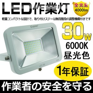 商品仕様: 商品名:30WLED投光器(GOODGOODS) 品番:LDT-3E 製造元:グッド・グ...