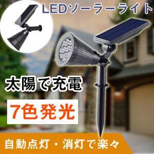 商品仕様  商品名:ソーラーLEDガーデンライト 商品番号:TY-3W LEDパワー:3W 全光束(...