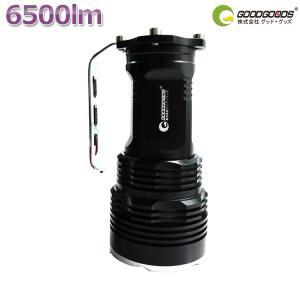 15%OFFLED懐中電灯 充電式 CREE 6500lm ハンディライト 登山 防災グッズ 夜釣り 旅行用品 キャンプ 地震 一年保証 TZ51