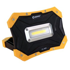 お試し価格 懐中電灯 LED投光器 乾電池式 10w LEDライト マグネット付き コードレス 単3乾電池使用 持ち運び便利 作業灯 レジャー YC-N3K|goodgoods-2