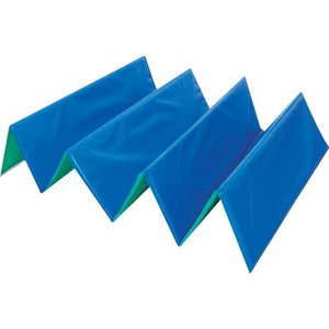 ワニ印 折り畳み式養生材 忍者N 5mm厚 700×1850 ブルー/グリーン [000111]|goodjobtools