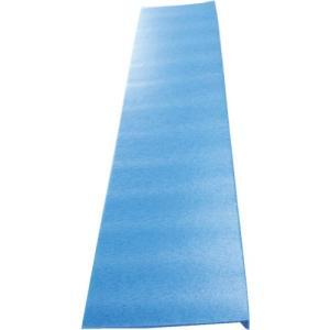 ワニ印 PP発泡・階段養生カバー スリム階段 ブルー 14枚入り [000137]|goodjobtools