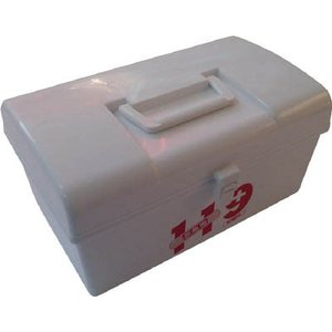 [代引不可] メイホー 救急箱 119L(ホワイト) 【119LW】 (12個入り) goodjobtools