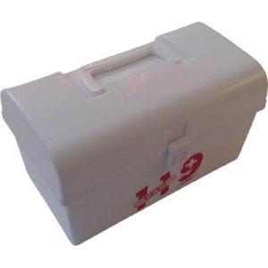 [代引不可] メイホー 救急箱 119M (ホワイト) 【119MW】 (24個入り) goodjobtools