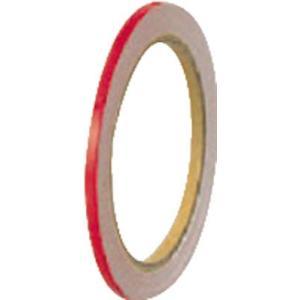 [代引不可] ユニット 反射テープ 赤 2巻1組 5mm幅×10m巻 【86343】 goodjobtools