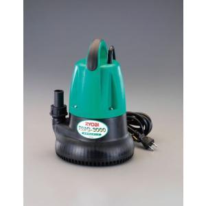 ESCOAC100V(50Hz)/25mm 水中ポンプ(汚水用)[EA345CA-50] goodjobtools