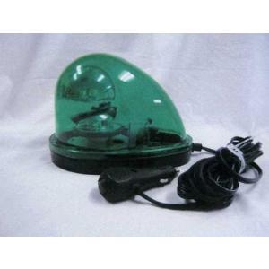 ESCODC12V/24V ハイパワーLED回転灯(緑色)[EA983FS-54A]|goodjobtools