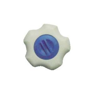 三星 フィットノブ M6 本体/白 キャップ/青 (5個入り) [FITWM6B5P]