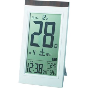ADESSO デジタル日めくり電波時計 [KW...の関連商品1