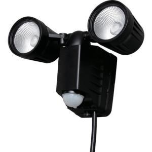 [代引不可] IRIS AC式LED防犯センサーライト 1500lm 2灯 【LSLACTN800D】|goodjobtools