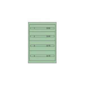 [代引不可] ヴィドマー ツールキャビネットTC−250C 【TC250C】