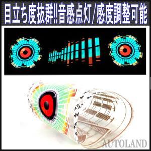 音感応!LEDイルミネーションライトフィルム!ウーハースピーカーボリュームデザイン|goodlife