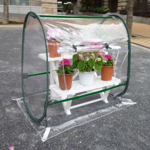 簡易温室 クリアーガーデンハウスSSS コンパクトドーム型|goodlifeshop