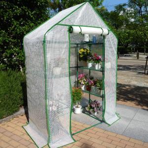 今季完売 組立式簡易温室 温室セミグリーンジャンボ|goodlifeshop