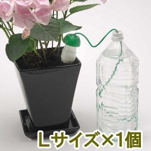不在時も水枯れから植物を守る便利アイテム! 水に入れた容器に入れるだけ!素焼き部分から毛細管現象で水...