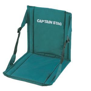 フォールディングチェア&マット グリーン CAPTAIN STAG|goodlifeshop