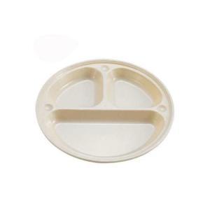 キャッシュレス還元対象 サンサンマーチ 抗菌仕切付プレート21cm M-0065|goodlifeshop