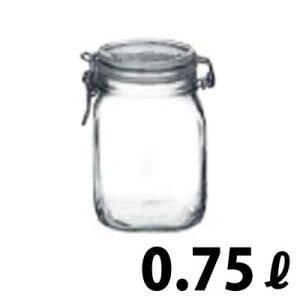 ボルミオリロッコ フィドジャー 0.75L(角型ガラス製保存容器)|goodlifeshop