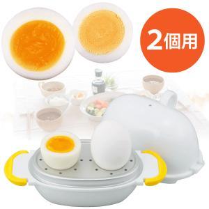 レンジで簡単ゆでたまご! 卵と水を入れて電子レンジで加熱するだけで簡単にゆでたまごができます!レンジ...