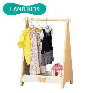 ●北欧雑貨を思わせる木製のとりの飾りがポイントです   ●園服も普段着の子供服も楽に掛けられる高さで...