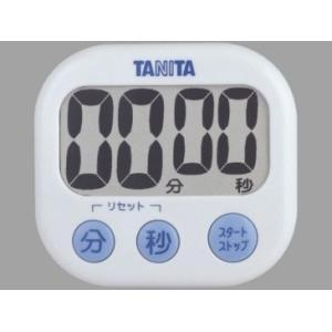 キャッシュレス還元対象 TANITA タニタ デジタルタイマーでか見えタイマー TD384 ホワイト