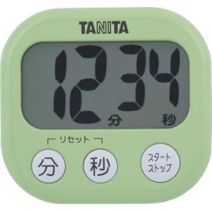 キャッシュレス還元対象 TANITA タニタ デジタルタイマーでか見えタイマー TD384 ピスタチ...