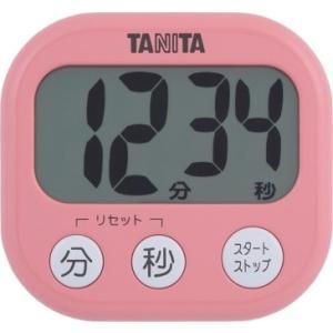 キャッシュレス還元対象 TANITA タニタ デジタルタイマーでか見えタイマー TD384 フランボ...