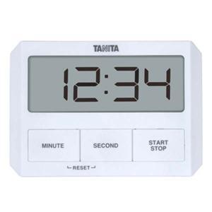 キャッシュレス還元対象 TANITA タニタ ガラスにつくタイマー TD-409 ホワイト  TD-...