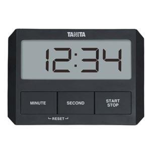 キャッシュレス還元対象 TANITA タニタ ガラスにつくタイマー TD-409 ブラック  TD-...