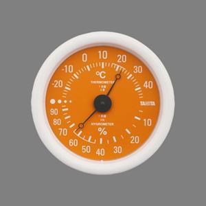 キャッシュレス還元対象 TANITA タニタ 温度計 温湿度計 TT-515 オレンジ  TT-51...