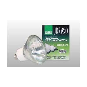 ウシオライティング ハロゲン JDR110V65WLM/K