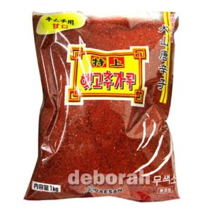 *韓国食品*大山 唐辛子粉 甘口 1kg キムチ用/調味用(選択肢)(m3945-m3946)|goodmall-japan