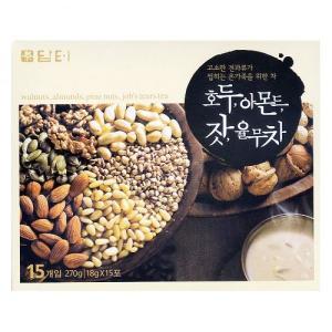 *韓国食品*ダント ミックス茶 18g×15袋(くるみ、アーモンド、鳩麦、松の実)(m5792)★goodmall★ goodmall-japan