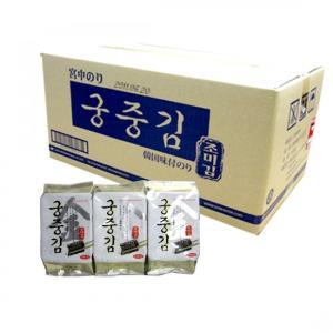 *韓国食品*関東・南東北・信越・北陸・中部送料無料 宮中のり1BOX(3PX 24個) 韓国のり●g...