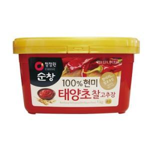 *韓国食品*清浄園 スンチャン・太陽草チャルコチュジャン1kg|goodmall-japan
