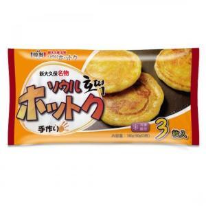 *韓国食品*【クール便・冷凍】冷凍 ソウルホットク 3枚入|goodmall-japan