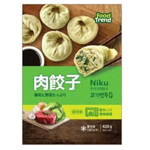 *韓国食品*【クール便・冷凍】名家 肉入り手餃子 420g 【代引不可】|goodmall-japan