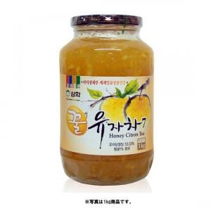 *韓国食品*蜂蜜入りで甘さアップ!三和 蜂蜜 柚子茶(瓶) 1kg goodmall-japan