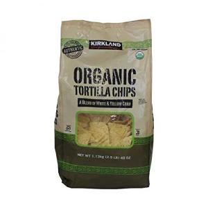 ■コストコ■【カークランド】オーガニック トルティーヤチップス1.13kg tortilla chi...