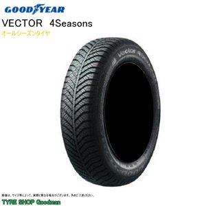 グッドイヤー ベクター 4シーズンズ 225/55R17 101V XL サマータイヤ|goodman
