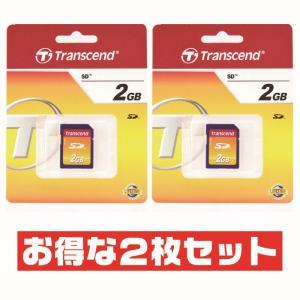 トランセンド 2GB【SD TS2GSDC x2枚セット】Transcend / 760557801...