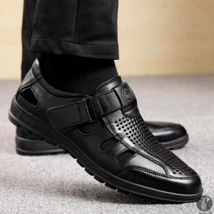 サンダル メンズ ビーチサンダル サボサンダル 本革 メンズサンダル コンフォートサンダル 高品質 透気性 カジュアル 履きやすい 歩きやすい|goodplus