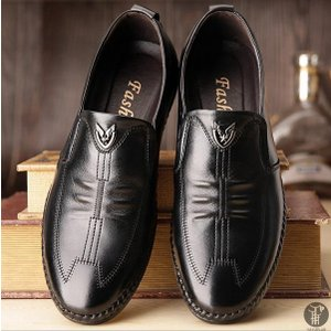 革靴 ビジネスシューズ スリッポン メンズ 結婚式 紳士靴 本革 メンズシューズ カジュアル ビジネス シューズ 仕事用 靴 軽量 フォーマル プレゼント|goodplus