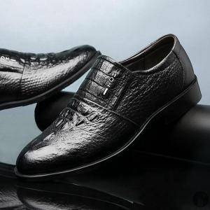 ビジネスシューズ 紳士靴 メンズシューズ スリッポン 革靴 メンズ 本革 ビジネス シューズ 仕事用 靴 軽量 フォーマル プレゼント 新生活|goodplus