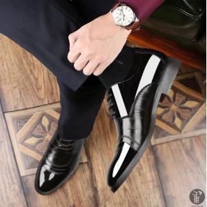 メンズシューズ 本革 紳士靴 ビジネスシューズ レースアップ 仕事用 革靴 メンズ ビジネス シューズ 靴 軽量 通気性 高品質 フォーマル プレゼント|goodplus