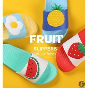 果物スリッパ サンダル スリッパ ルームシューズ くだもの レディース メンズ 親子 子供用 大人用 おもしろ ファッション|goodplus