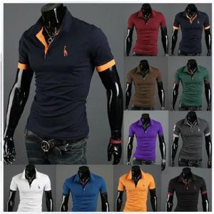 カジュアルシャツ 半袖ポロシャツ メンズ ポロシャツ 半袖 ストリートファッション polo shirt Mens キレイ目 ロンT Tシャツ シャツ shirt アメカジ ロング|goodplus