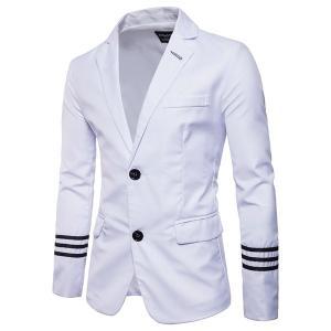 結婚式 入学式 卒業式 紳士服 メンズジャケット メンズブレザー スーツ テーラードジャケット フォーマル 通勤 スリム ビジネス|goodplus
