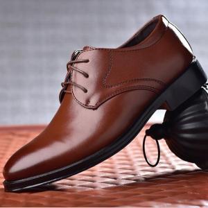 紐靴 ビジネスシューズ 革靴 レースアップ メンズシューズ 新生活 紳士靴 フォーマルシューズ 靴 軽量 結婚式 仕事用 歩きやすい|goodplus