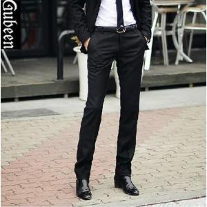スラックス スラックスパンツ メンズ ビジネス ウォッシャブル 洗える 通勤 メンズスラックス ボトムス 秋冬 スリム ネイビー 黒 グレー パンツ 大きいサイズ|goodplus